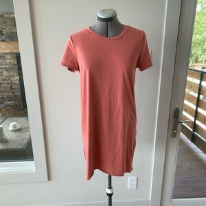 Forever 21 Coral T shirt Dress